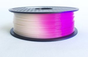 Color Changing due to Temperature 3D Printing Filament