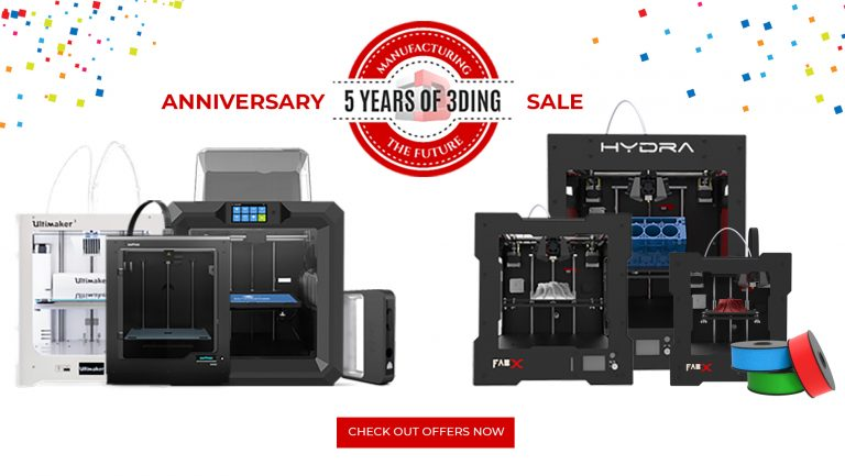 Get exciting offers on 3D Printers, 3D Printing Services, 3D Filaments!